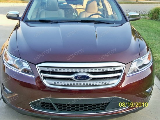 Ford - Taurus - Audi - style - LED - strip - lights - 4